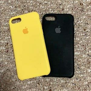 Accessories - iPhone 7 Silicone Cases x 2